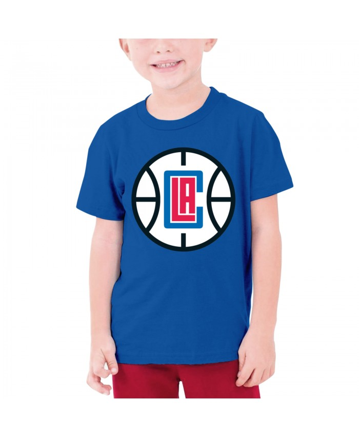 Bucknell Basketball Teenage T-shirt Los Angeles Clippers LAC Blue