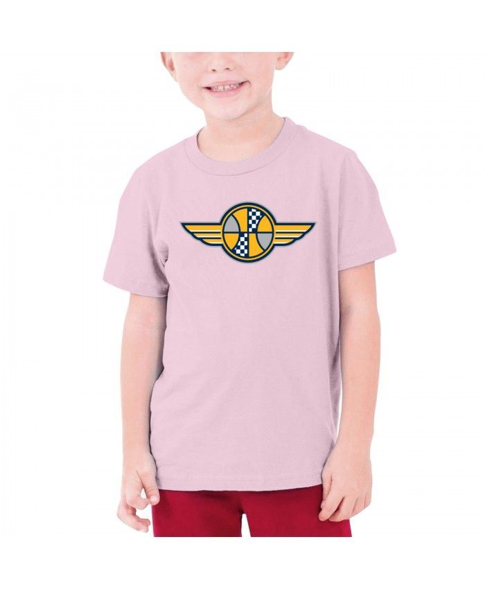 Indiana Pacers Nba Teenage T-shirt Indiana Pacers IND Pink