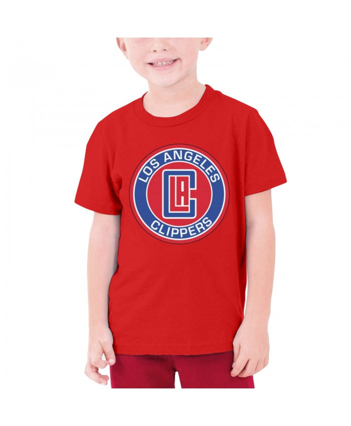Montrezl Harrell La Clippers Teenage T-shirt Los Angeles Clippers LAC Red